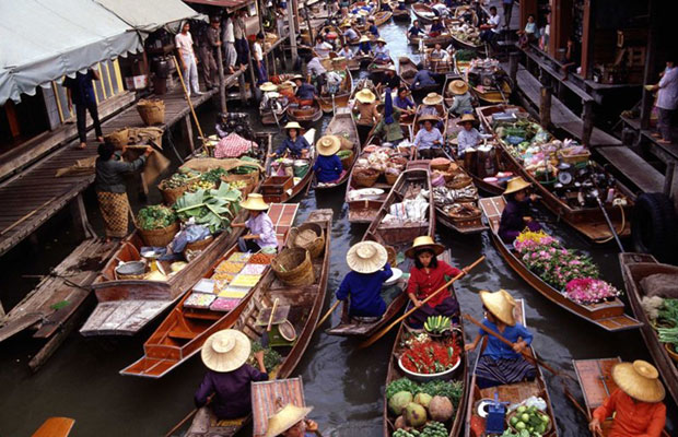 Most Unusual Markets in Thailand