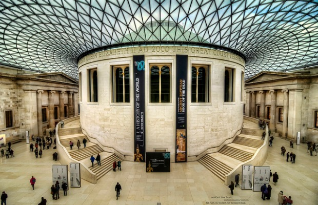 British Museum, Bloomsbury, London, UK