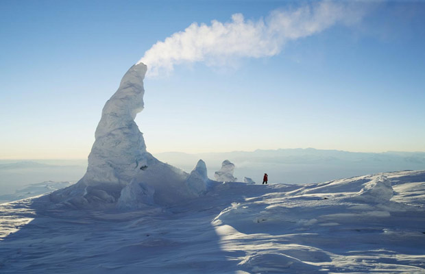 Mount Erebus Ice Towers