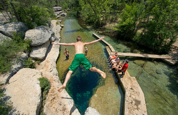 Guide to the Hill Country Swimming Holes
