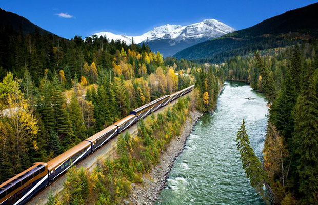 Amazing Canadian Train Routes