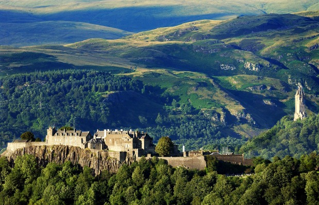 Wallace Monument, Stirling Castle