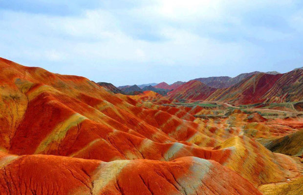 Zhangye Mountains