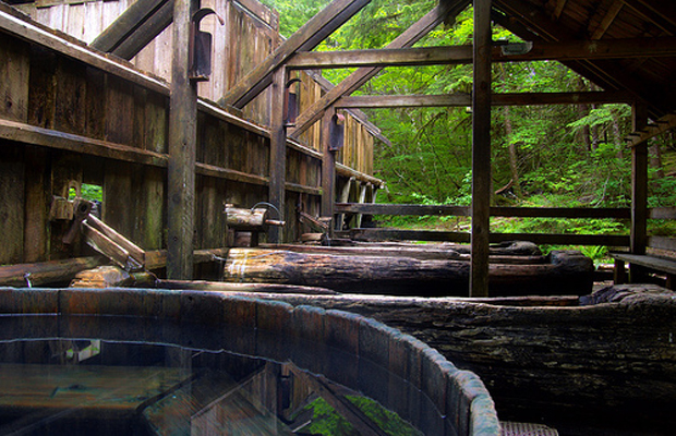 Bagby Hot Springs, Estacada, Oregon