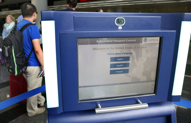 Automated Passport Kiosk