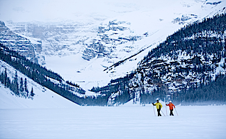 Banff cross-country skiing