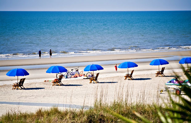 hilton head, one of the best fall beach vacations in october