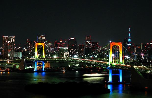Tokyo, Bay, Rainbow Bridge