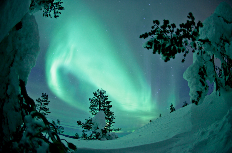 northern lights visit finland