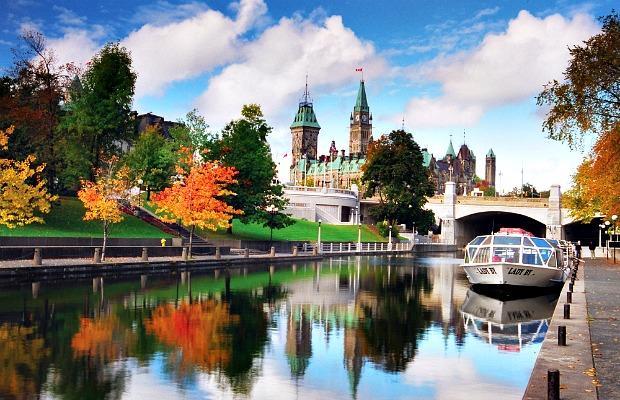 Ottawa flickr Rideau Canal Parliament Hill 620x400