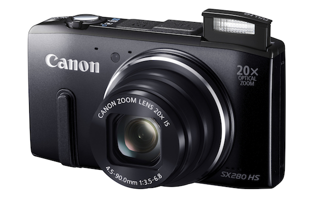 Canon PowerShot SX280HS - a great affordable camera for travel