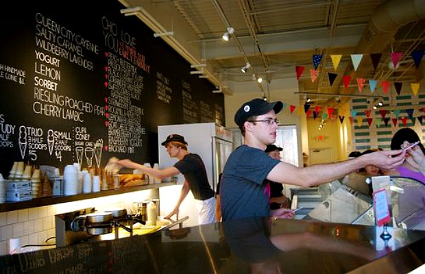 jeni's ice cream, a Columbus foodie must