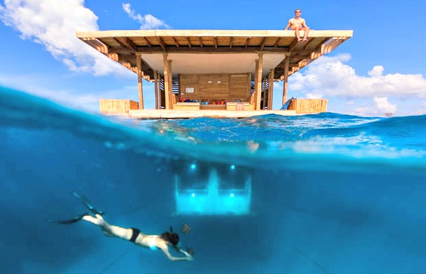 under water hotel - the manta resort