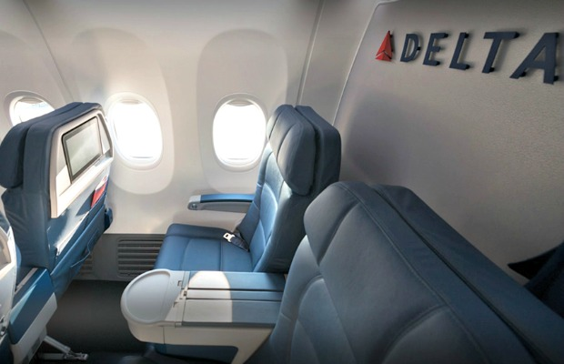 delta airlines legroom