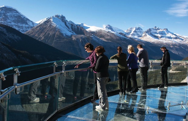 glacier skywalk 3 - banff alberta canada - brewster travel canada - 620