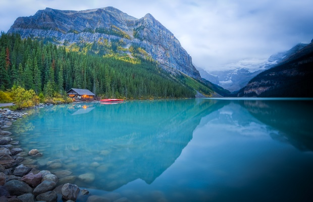 Lake Louise Boathouse, a top reason to visit Banff