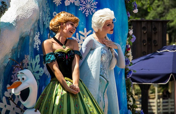 Disney's Frozen-Themed Parade in Orlando