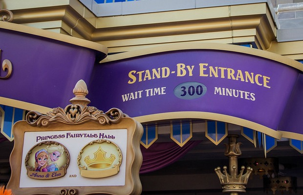 Disney World Wait Times/Anna Elsa Frozen