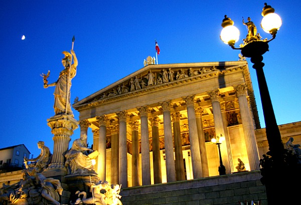 Vienna Austria Parliament