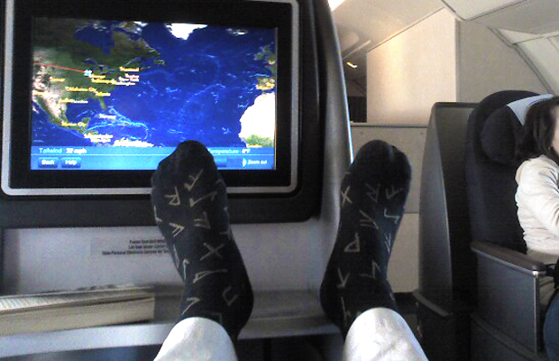 airplane socks - Victor d'Allant