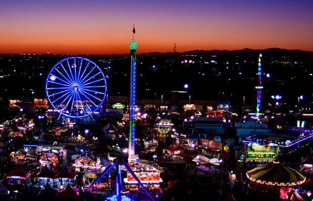 ferris_wheel_Midway_sunset - arizona state fair - 620