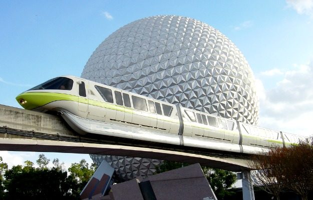 Epcot Center Monorail Disney World Florida