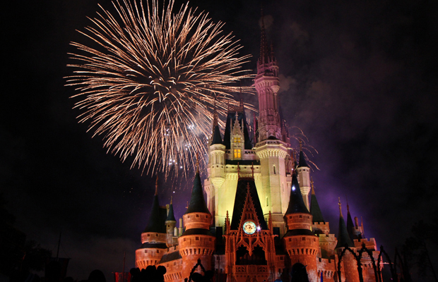 best places to watch disney world fireworks