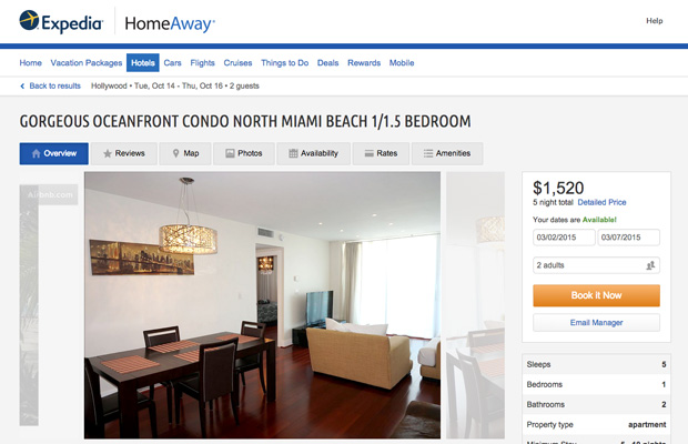 expedia vacation rentals homeaway - 620