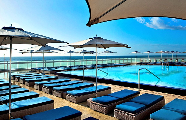 Florida - Fort Lauerdale - W Hotel - Pool Deck - 620x400