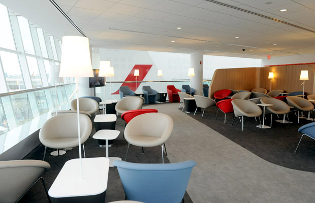 Air France JFK new lounge