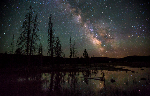 Yellowstone National Park - stargazing - by National Park Service-Neal Herbert - 620
