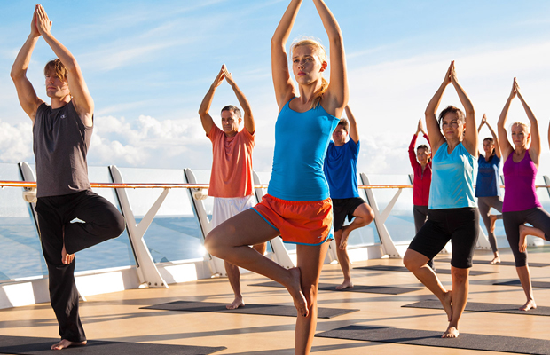 yoga - royal caribbean