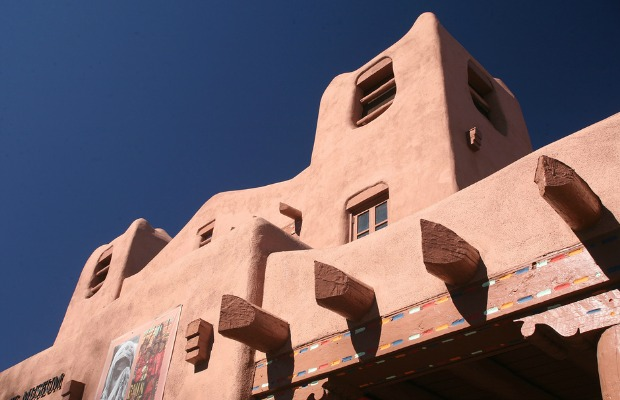 Adobe in Santa Fe, NM