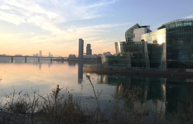 Han River and Floating Islands