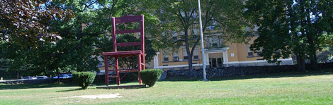 bicentennial giant chair, massachusetts