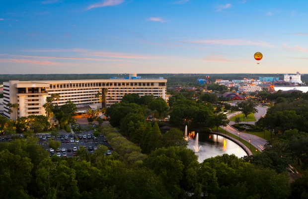 Hilton Orlando Lake Buena Vista, downtown disney hotel deals