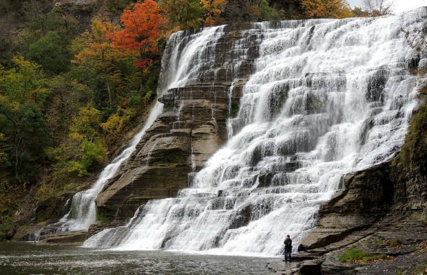 budget travel: nature in Ithaca, NY
