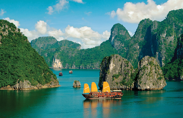 ha long bay - vietnam - mekong river - amawaterways cruise