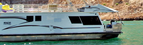 grand canyon houseboating on lake powell