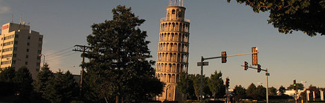 leaning tower of niles, illinois