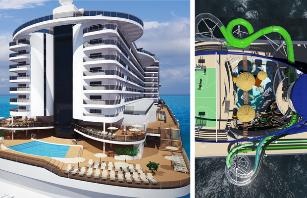 new cruises ship MSC Seaside