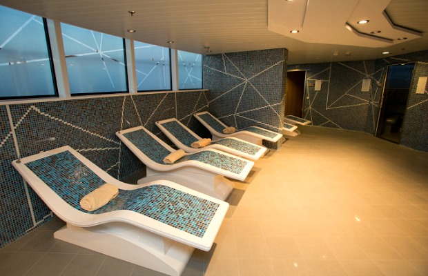 Vitality Spa on the Royal Caribbean Quantum of the Seas