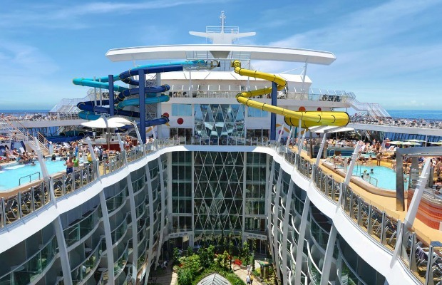 Rendering of the Royal Caribbean Harmony of the Seas