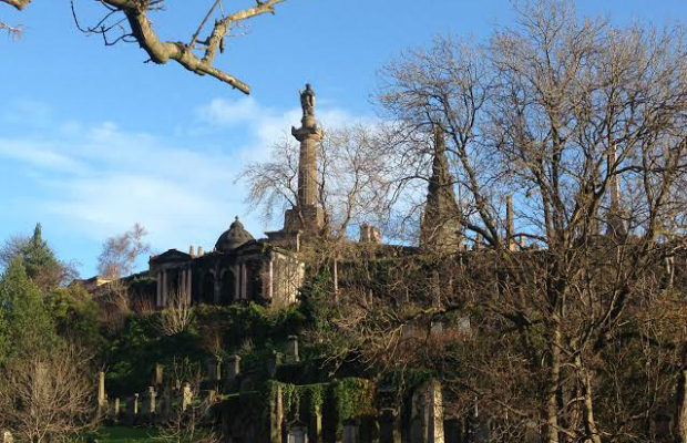 the necropolis is free to visit in glasgow, scotland (uk)