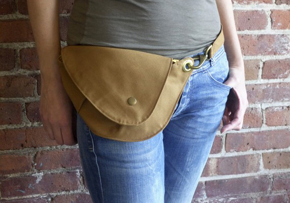 rock and salt - cool fanny pack