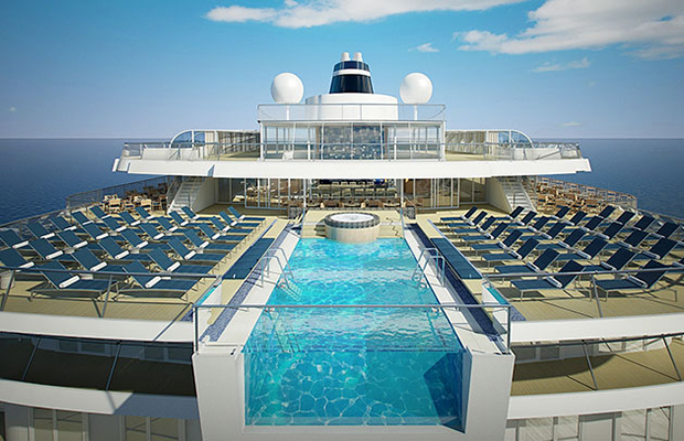viking star infinity pool - viking ocean cruises