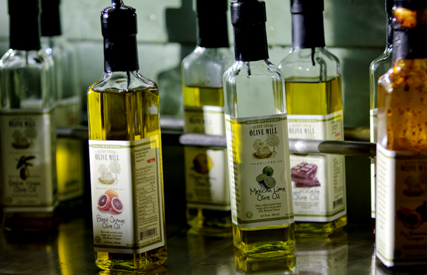 Extra Virgin Olive Oil at Queen Creek Olive Mill in Mesa, Arizona
