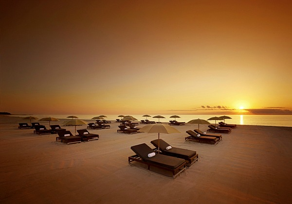 Beach Loungers at the Setai Miami Beach
