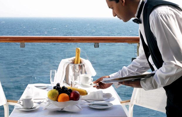 free room service on celebrity cruises