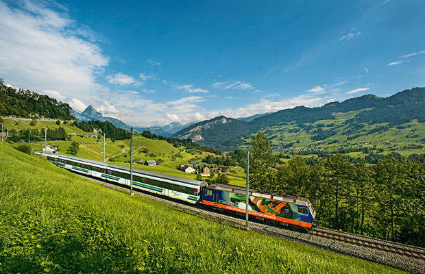 Pre-Alpine Express, swiss travel pass grand train tour of switzerland